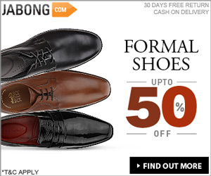Jabong offers superb collection of fashionable footwear for Men, Women and Kids. For Men Jabong offers Casual Shoes, Formal Shoes, Sneakers, Sandals & Slippers, Sports Shoes and more as per occasion and requirement. Similarly for Women, it offers Flats, Sandals, Bellies, Boots, Heels, Wedges etc .