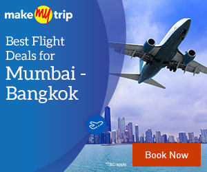 MakeMyTrip-Mumbai to Bangkok Flights