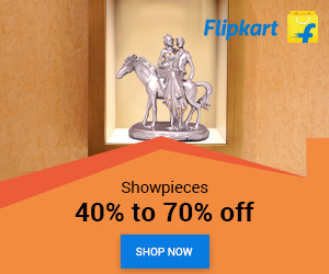 Flipkart Offer on Showpiece