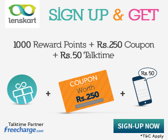 Earn Rs.250 and Rs.50 Recharge Voucher