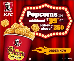 Kfc Offer Popcorn for addition
